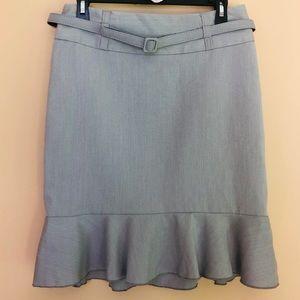 Charlotte Russe Grey Skirt | 8